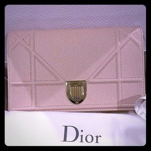 Dior Diorama Wallet on a Chain GHW